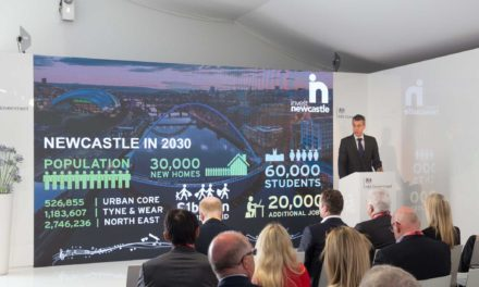Newcastle shines to international investors