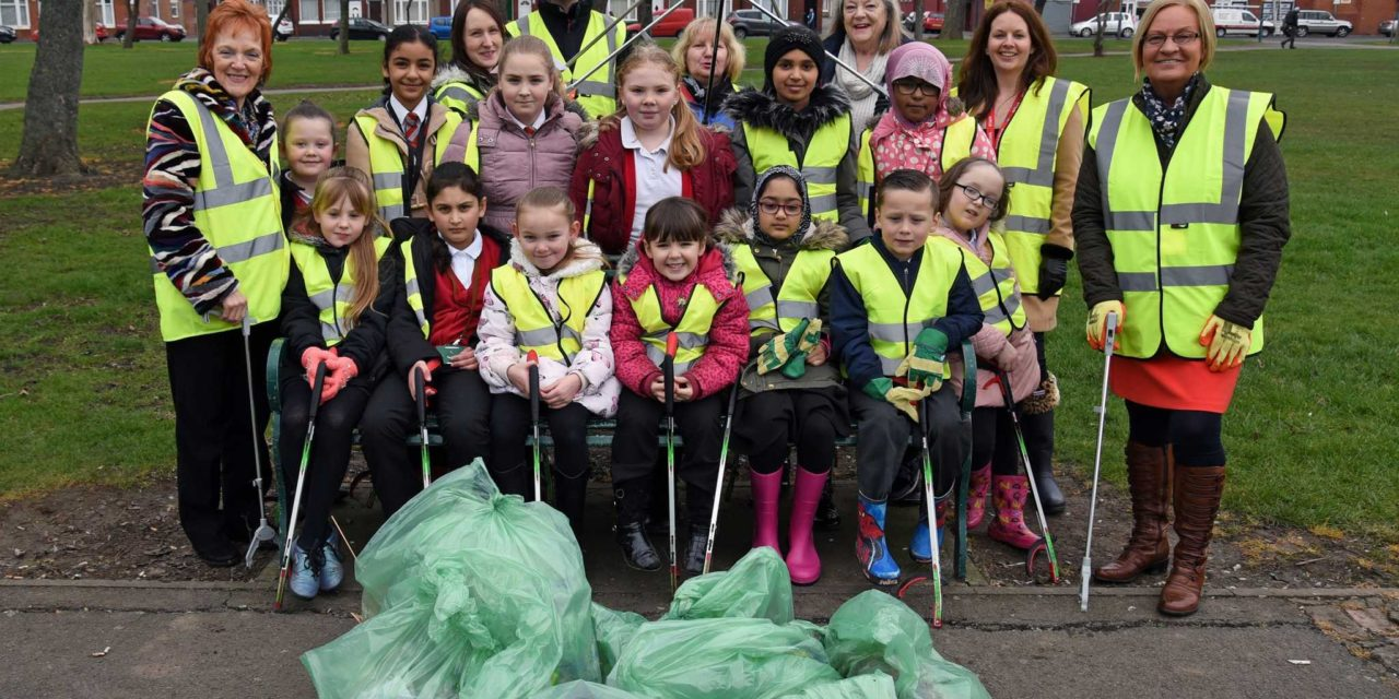 Ayresome Gardens Receives a Great British Spring Clean