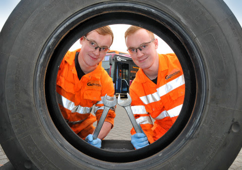 Easington twin apprentices choose a double life on the buses