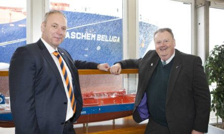 Eco-friendly ship in the SABIC global supply chain named on Teesside