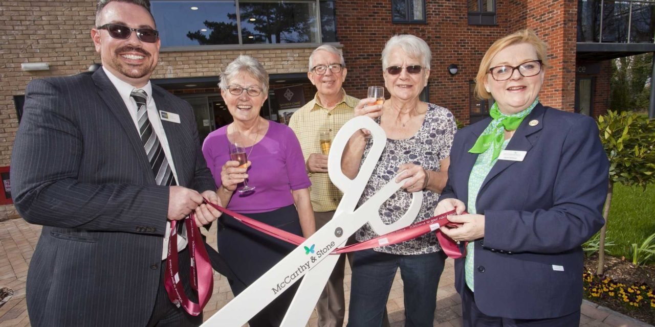 Homeowners Lead Celebrations at Grand Opening of Sovereign Court