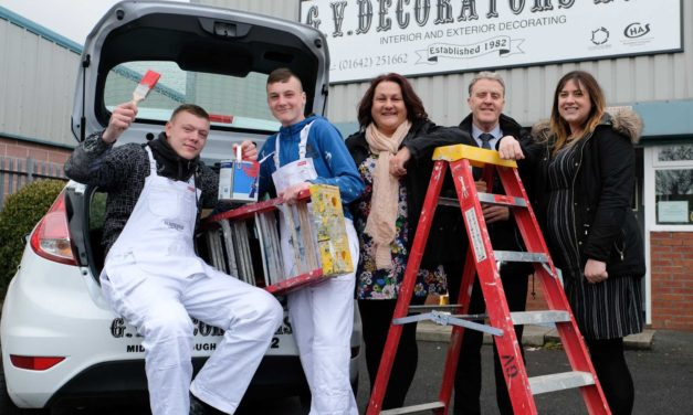 Coast & Country secures decorating apprenticeships for local young people