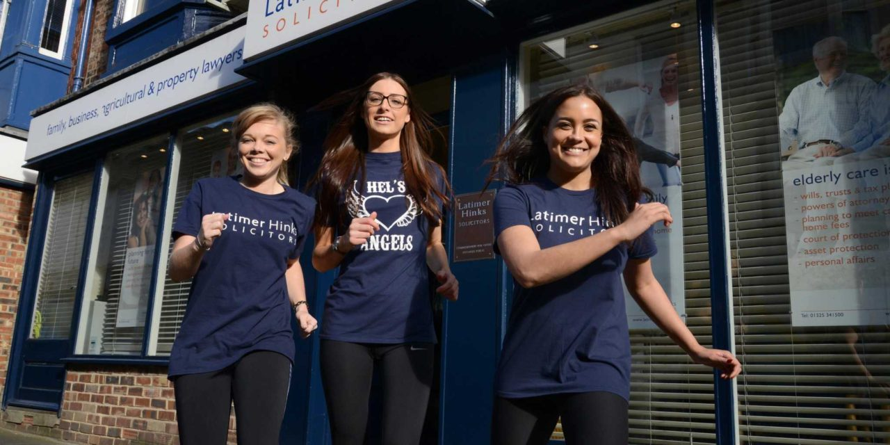 Darlington law firm's Hel's Angels raise money for hospice in 10K run