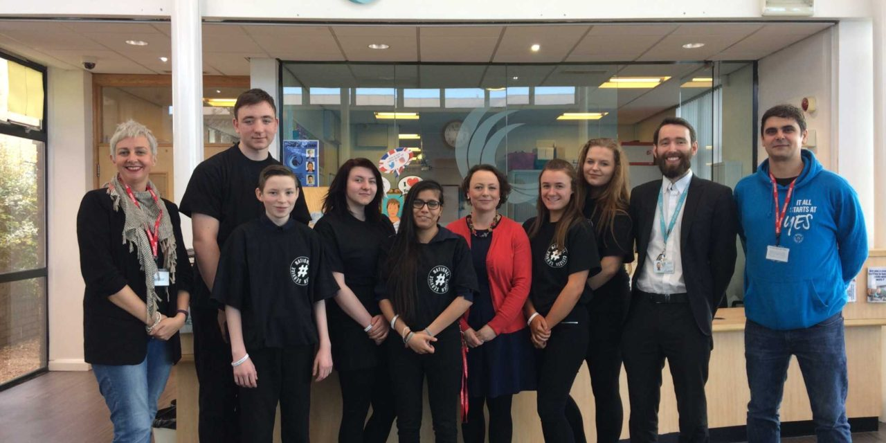 MP for Newcastle North visits community-minded teens