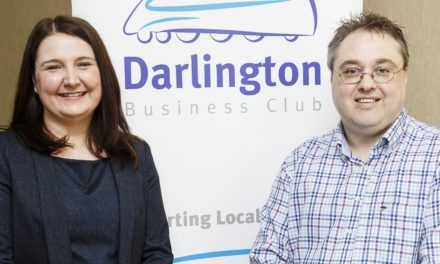 New appointment at Darlington Business Club