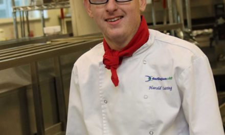 Tony Hadley event is pure gold for catering student