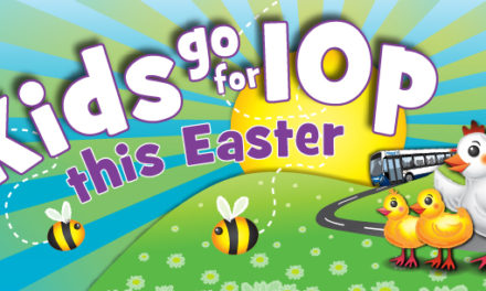 Be a Happy Bunny and Hop on Board the Bus this Easter!
