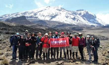 Kili Conquerors Raise £12,000 for Charity