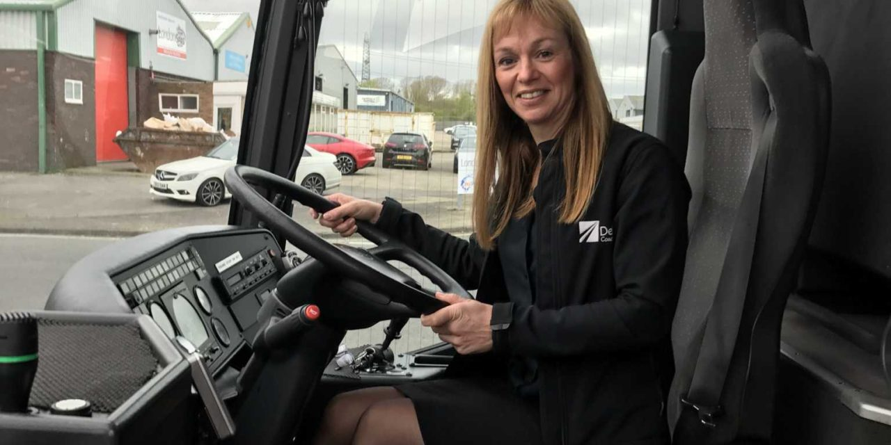 Executive coach company recruitment nets former charity boss and issues appeal for women drivers