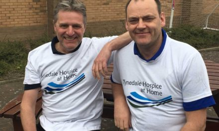 Friends step out for Hospice in 100 mile walk