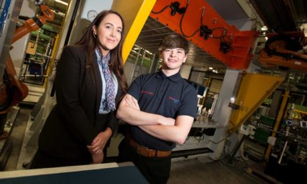 Redcar Apprentice Represents the North East in Westminster Visit