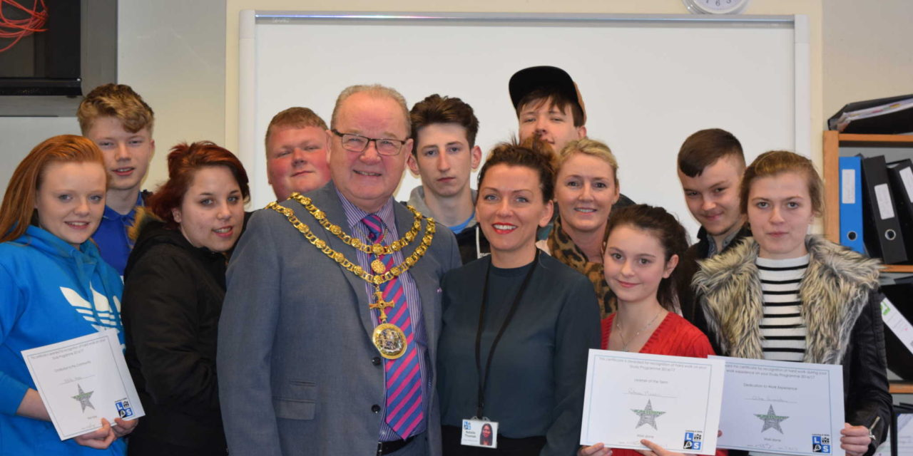 Hard Work of Young People Recognised by Mayor of Darlington