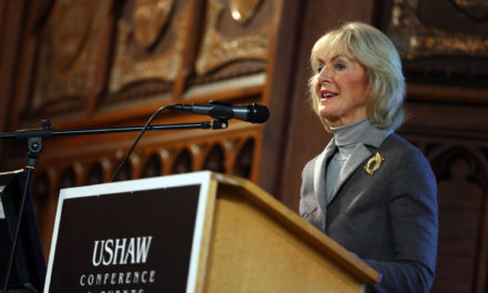 VisitEngland chair Lady Cobham speaks at Tourism Forum