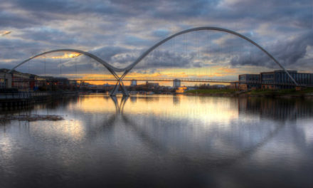 Michelle's Infinity Bridge Snap is a Winner!