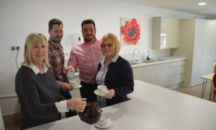 New Kitchen and Redecoration gives Neasham Reading Room a new Lease of Life