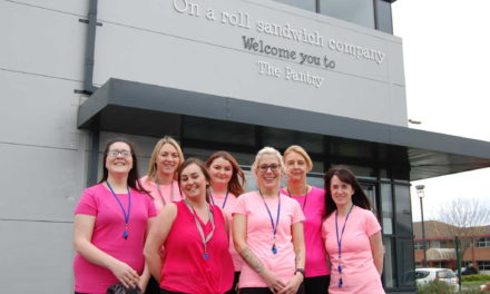 On a Roll team on the blocks for Race for Life