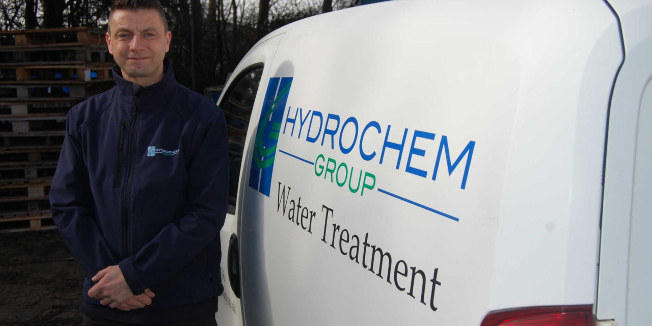 Pioneering product for water treatment expert