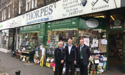 Iconic Gosforth shop for sale
