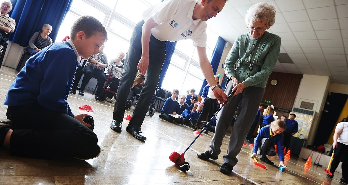 Newbiggin Hall residents of all ages come together through golf – and an understanding of the ageing process!