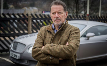 Meet Happy Valley actor George Costigan as he introduces his debut novel 'The Single Soldier'