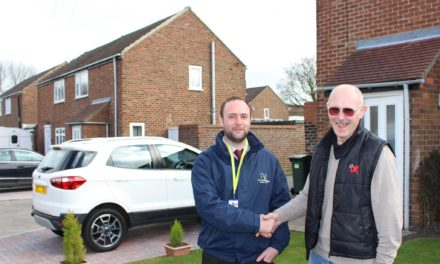 New parking improves Sherburn streets