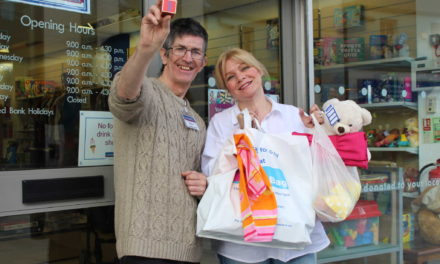 St Oswald's celebrates a year in the bag at first Sunderland charity shop