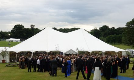 An evening of Entertainment 'Under the Stars' at the Cundall Ball