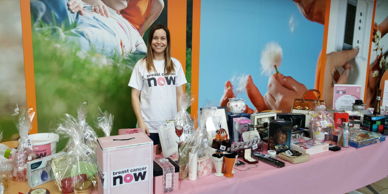 EDF Energy raises important funds for research into fighting breast cancer