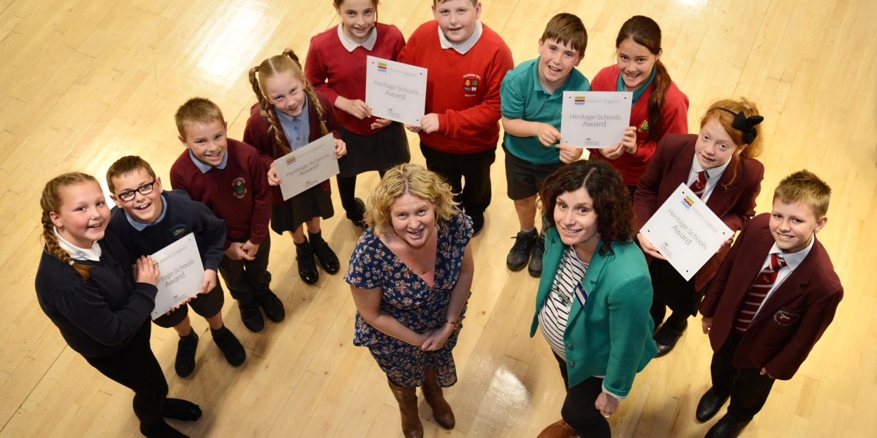 Schoolchildren Present Hometown History at Special Celebration Event