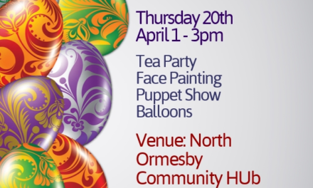 Easter Tea Party at North Ormesby Community Hub