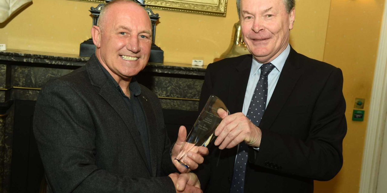 Tireless Boxing Coach Named Citizen of the Year