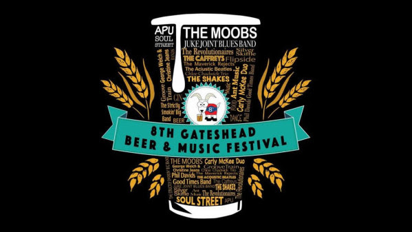 Gateshead Beer & Music Festival – 28-30 April
