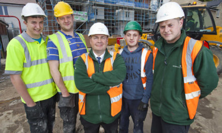 Local Tradespeople Employed by Leading Housebuilder in Scarborough