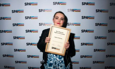 Journalism student scoops national award