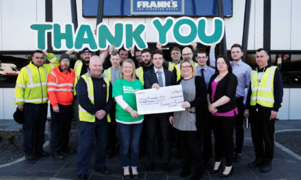 North East flooring firms raise £30,500 for Macmillan Cancer Support