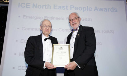 Dedicated civil engineer honoured with prestigious award