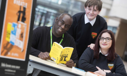 Cramlington students inspired by writer whose life was saved by reading