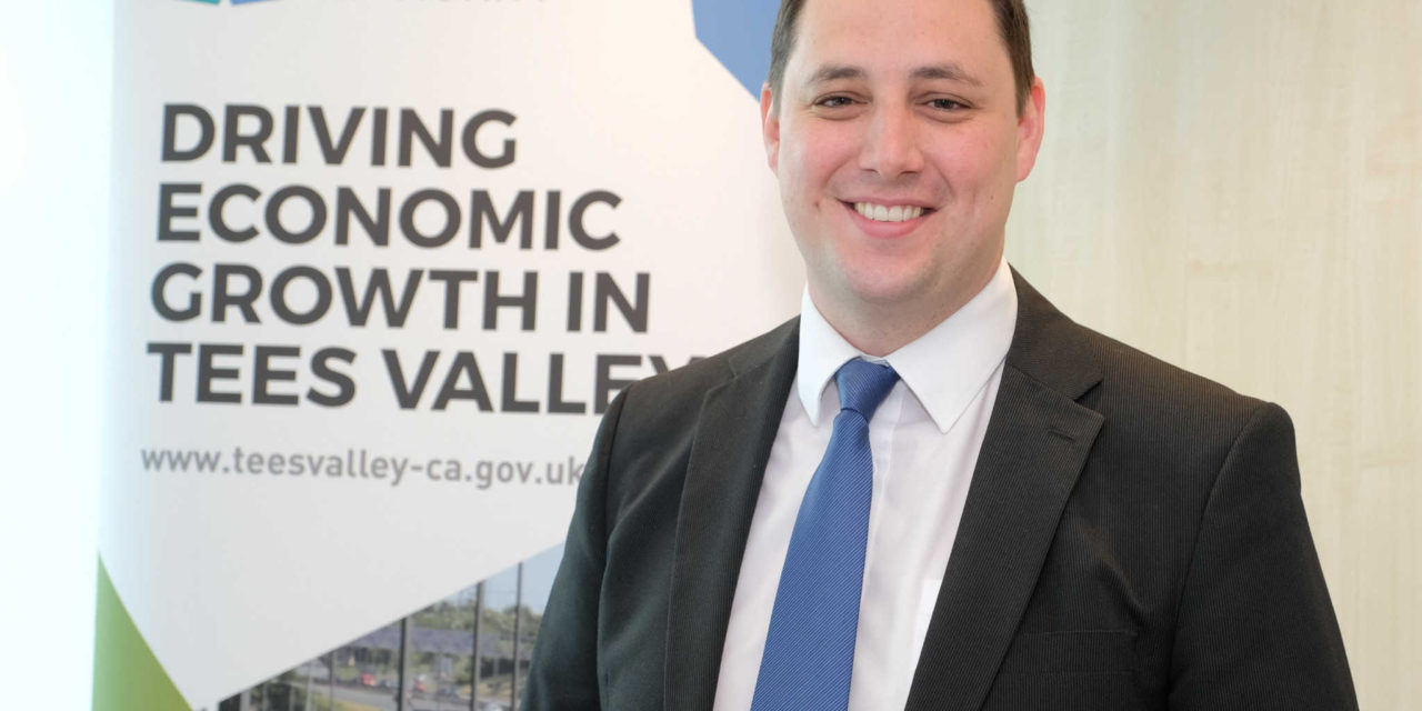The New Tees Valley Mayor takes Office