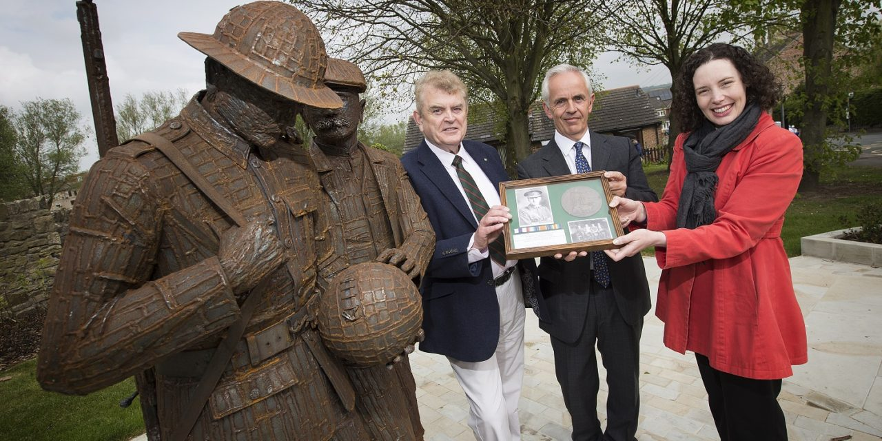 DLI Collection receives donation of Bradford 'death penny' plaque