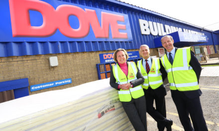 Visit by Trevelyan Carries Strong Message for Region's Building Trade
