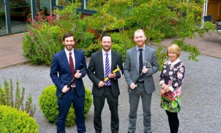North East Professionals take on Mont Blanc for Maggie's Newcastle