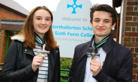 Students collect ancient honour for being top role models