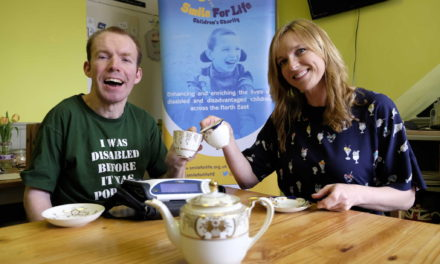 North east comedian The Lost Voice Guy partners up with Smile For life Children's charity to inspire disabled youngsters to achieve their dreams