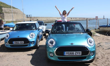 On tour! Morpeth interior designer chosen to lead MINI road trip across North East