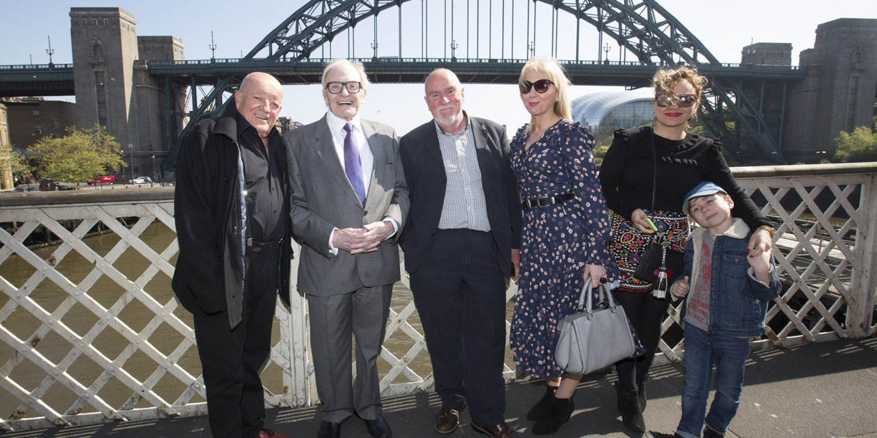 """Local Heroes"" plaques unveiled on NewcastleGateshead's Walk of Fame"