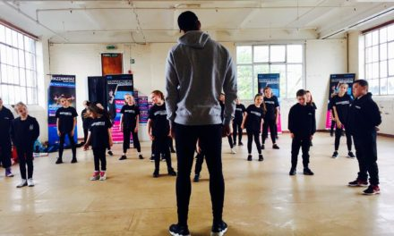 Superstar 'Ashley Banjo' visits Theatre School for specialist  workshop with local youngsters
