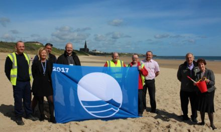 Blue flags fly high in North Tyneside