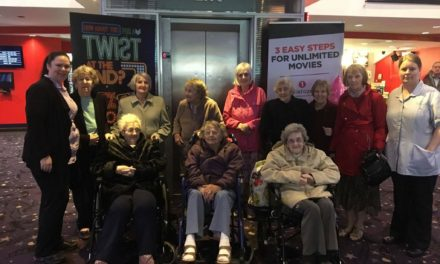 Teesside elderly enjoy trip to cinema during Dementia Awareness Week