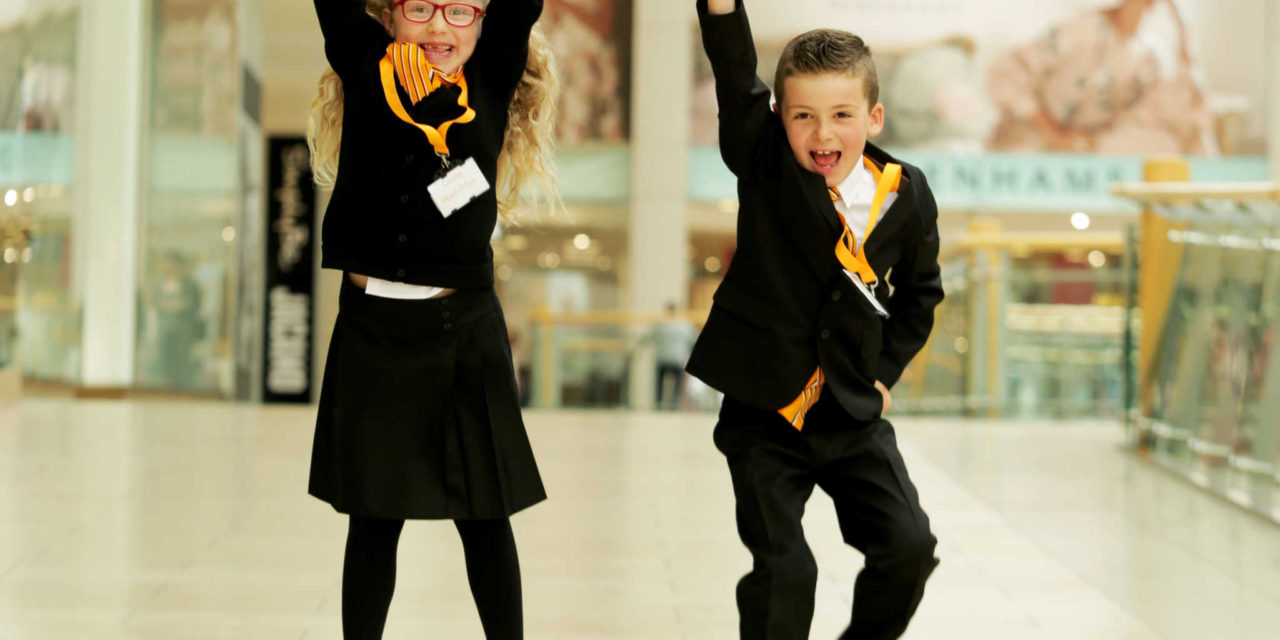 Best foot forward for intu Metrocentre's new Heads of Fun!