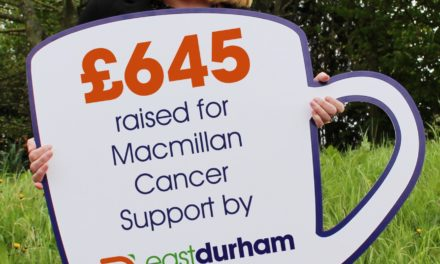 Charity cash raised after cancer battle